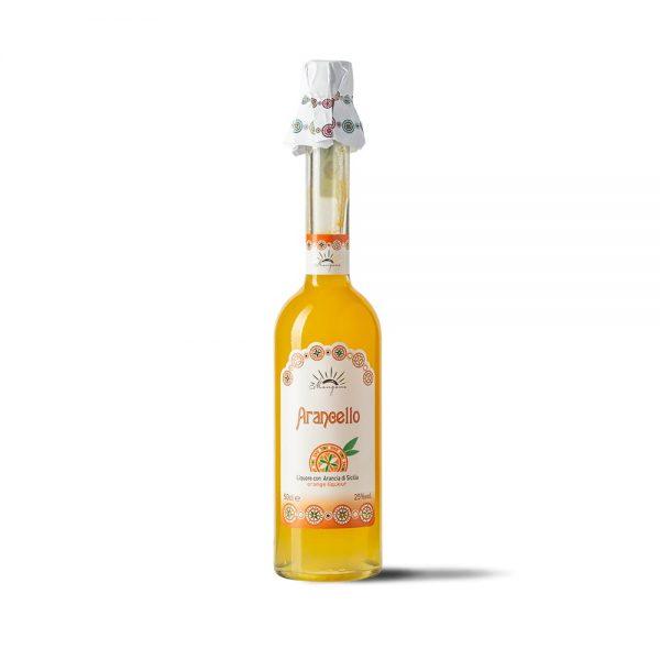 Arancello Liquore di Arancia di Sicilia - Arancello Mangano