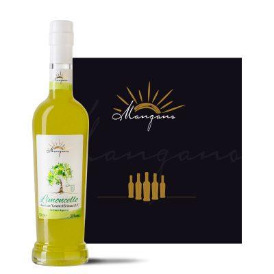 limoncello di siracusa sicilia IGP Azienda Mangano limoncello di siracusa mangano liquori tipici siciliani